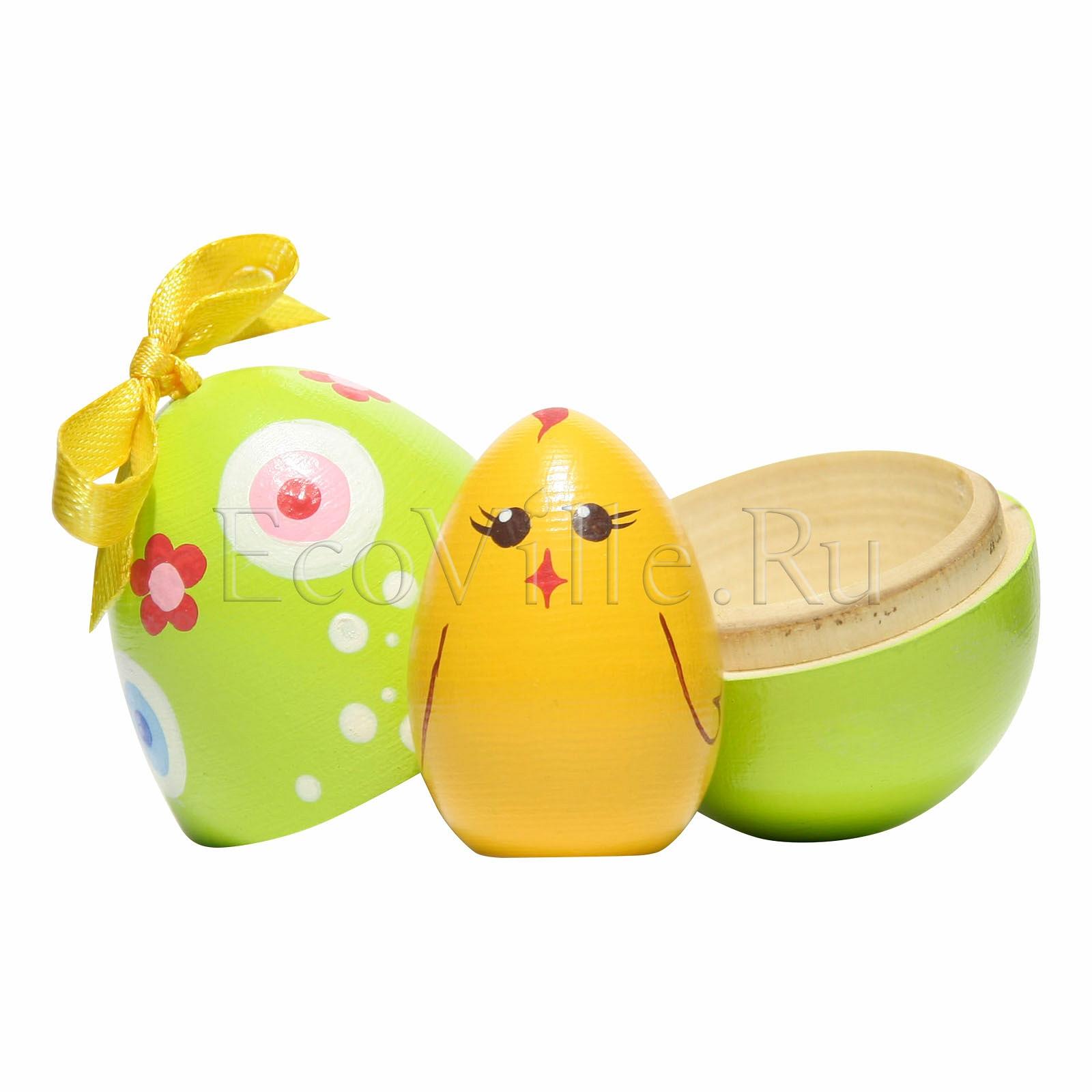 Яйцо с цыпленком Вальда в экомагазине EcoVille.Ru